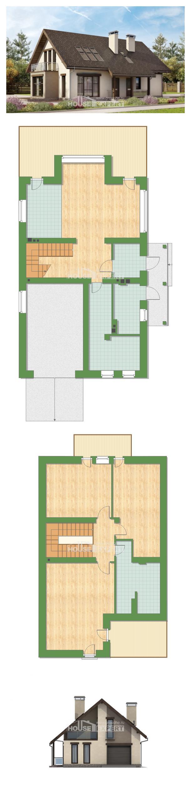 Проект дома 185-005-Л   House Expert