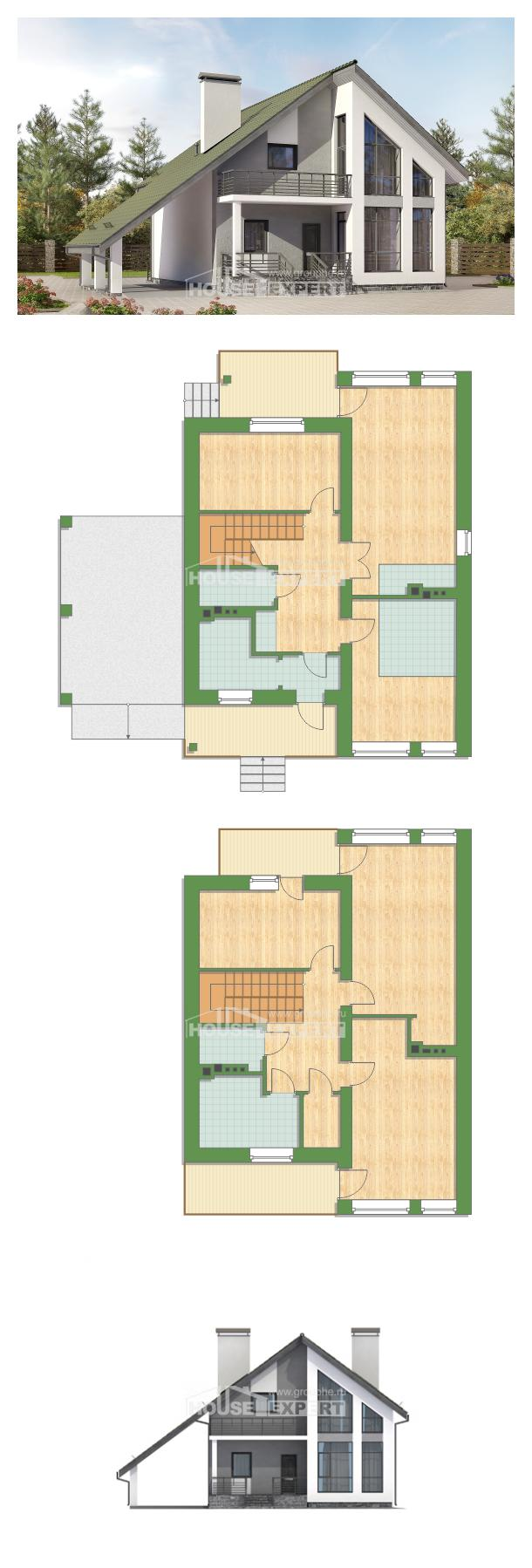Проект дома 170-009-Л   House Expert