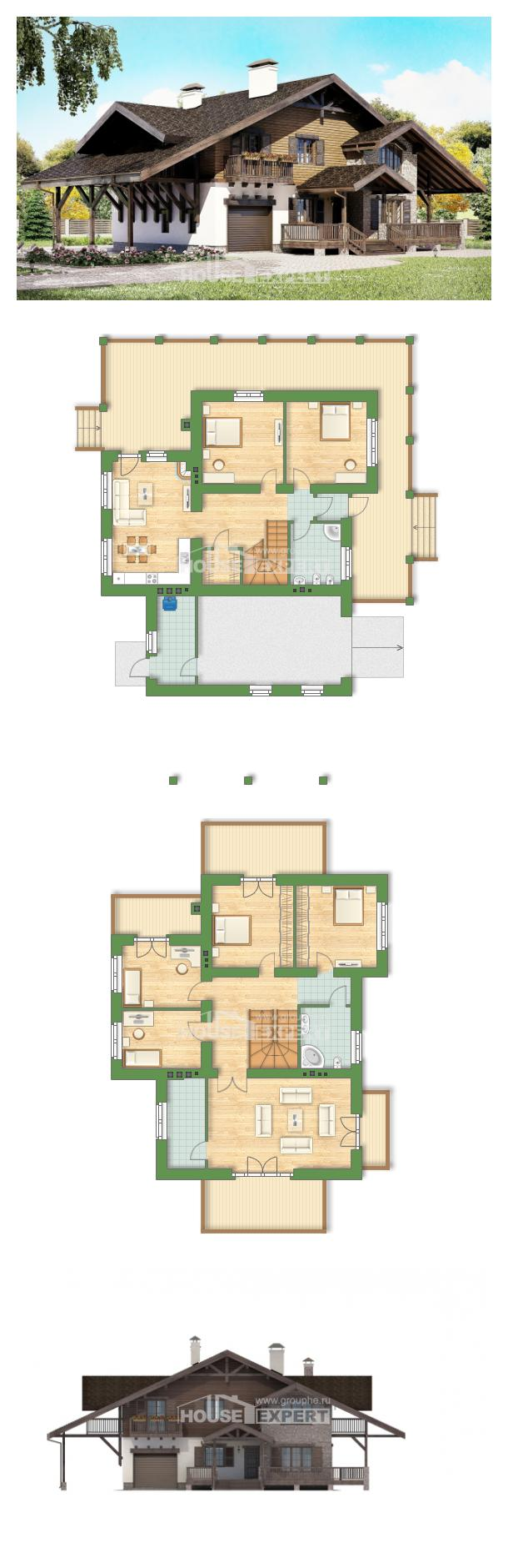 Проект дома 270-001-Л | House Expert