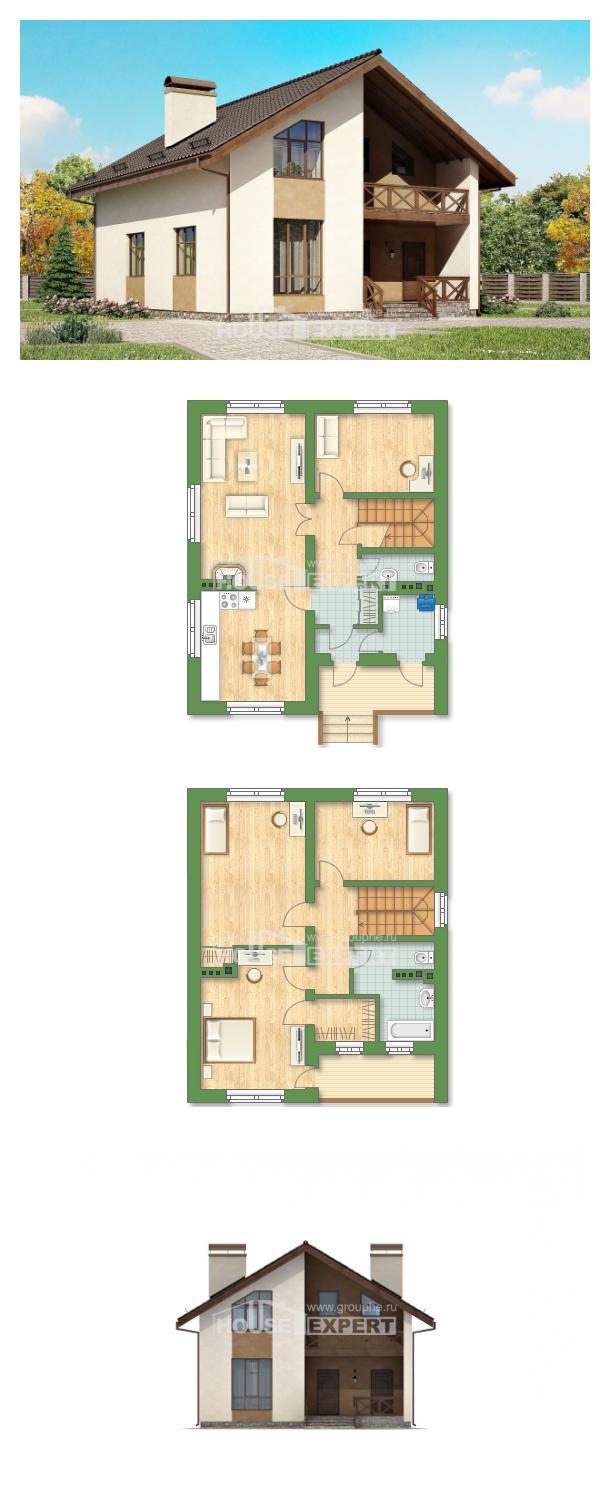 Проект дома 170-002-П | House Expert