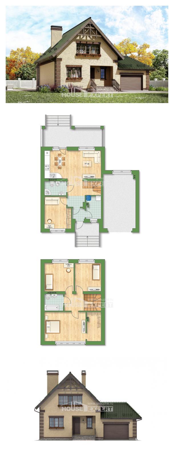 Проект дома 160-007-П   House Expert