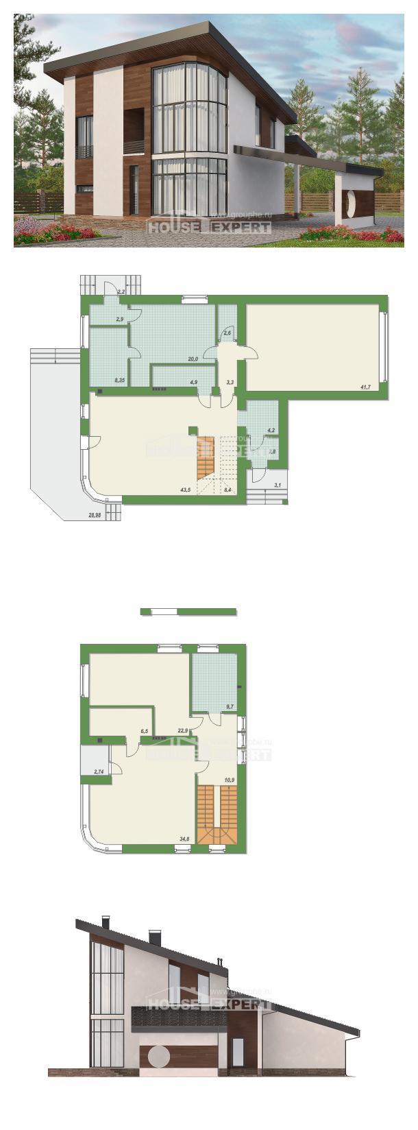 Проект дома 230-001-П   House Expert