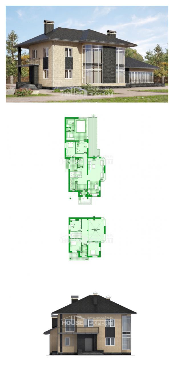 Проект дома 305-003-Л | House Expert